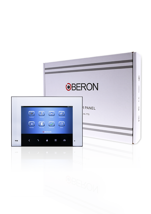 "Oberon 7"" wall Touch screen, Android based door phone"