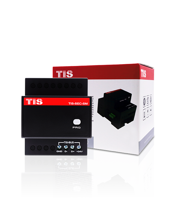 TIS-BUS Security Module – RS485 based