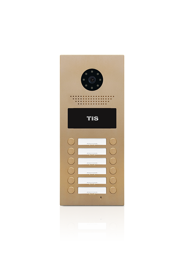 Oberon outdoor doorphone unit for 12 units