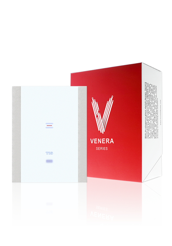 Interruptor Táctil Wi-Fi– Panel Venera de 1 Gang – TIS Smart Home, Hogares Inteligentes