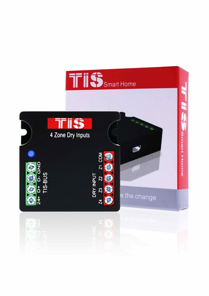 TIS 4 digital inputs