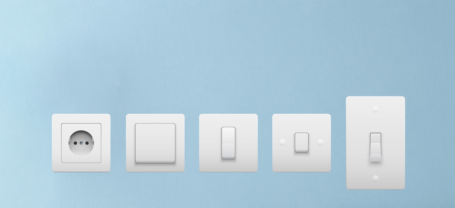 Fit in all boxes to control all type of wall switches - TIS