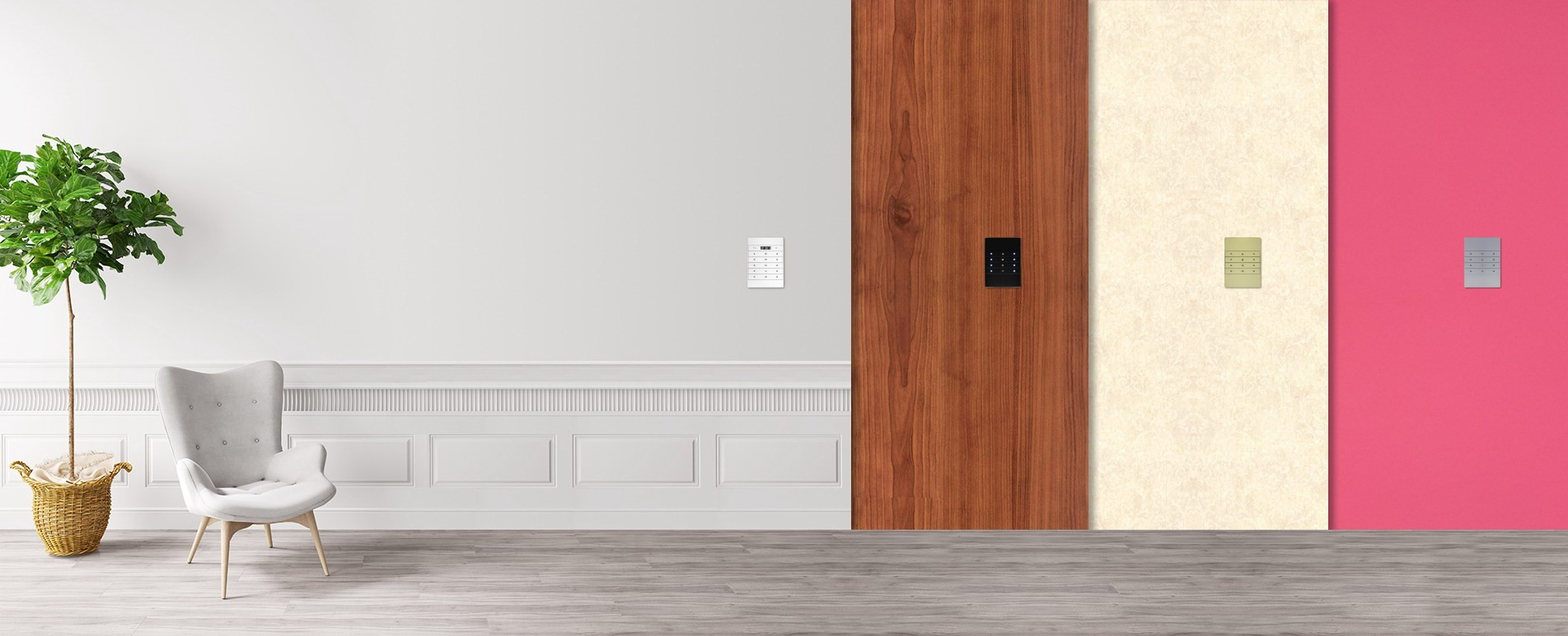 Fit all ID wall design and colors- TIS Mars Switch series