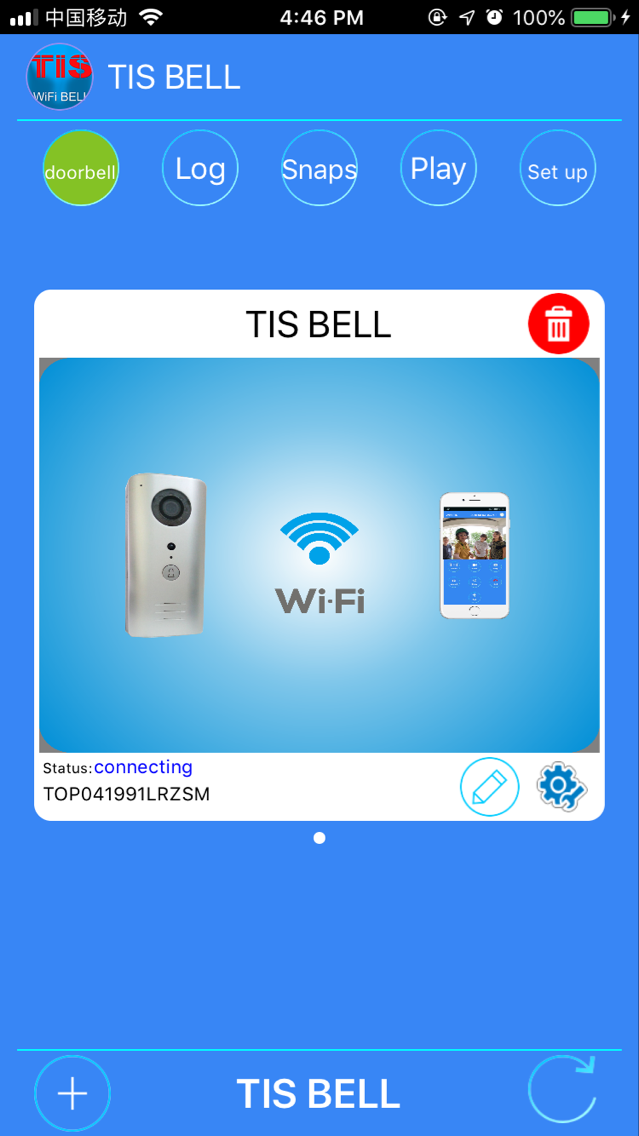 TIS WIFI Doorbell application