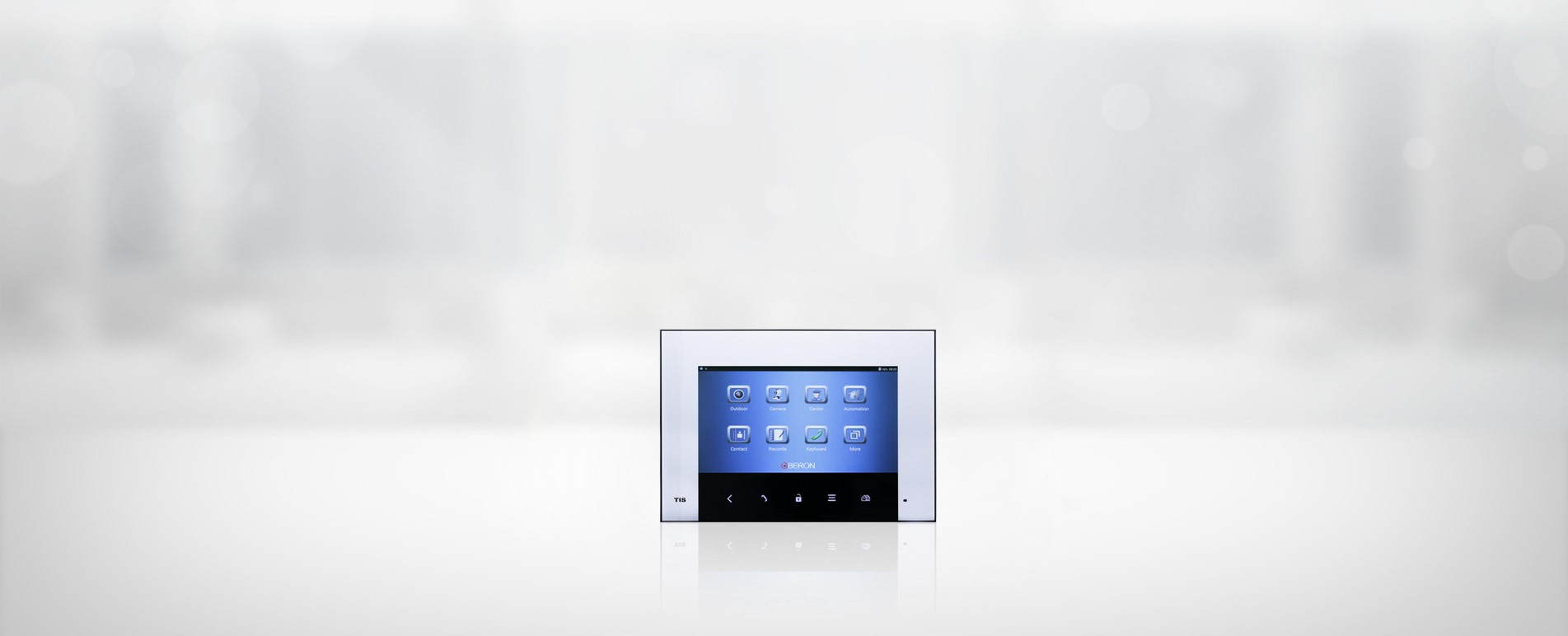 "7"" indoor touch screen intercom from TIS Automation"