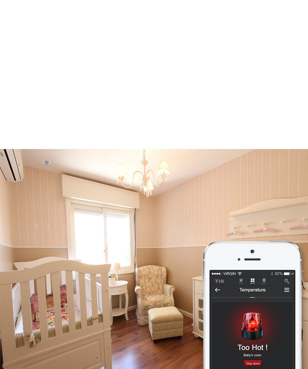 Save energy by occupancy sensor – TIS