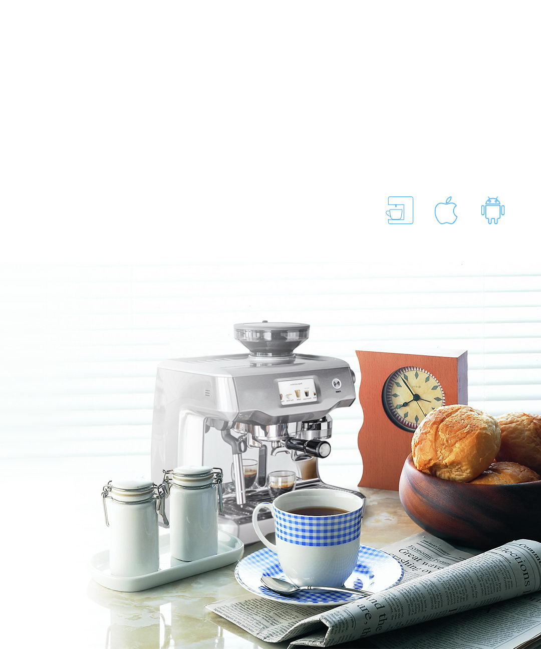 Smart kitchen will make your coffee ready at morning - TIS