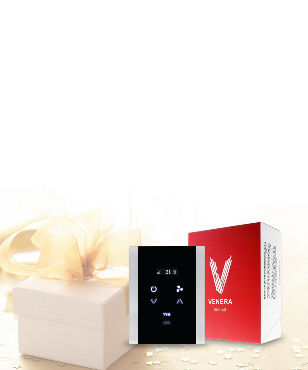 With Love we introduce you venera wall thermostat – TIS smart home