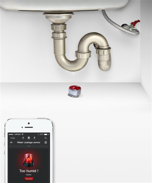 Water leaks, protect home, TIS Automation